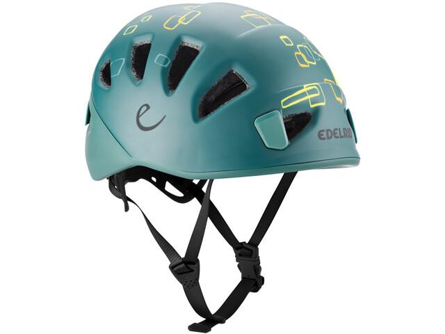 Edelrid Shield II Helm Kinderen, petrol